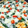 White Spinach Pizza