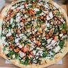 Chicken Glazed Balsamic Pizza