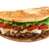 Steak, Cheese & Mushrooms Sub