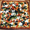 Veggie White Sicilian Pizza