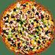 Curry Veggie Delight Pizza
