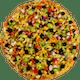 Spicy Garden Delight Pizza