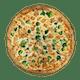 Chicken Broccoli Alfredo White Pizza