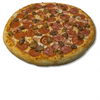 Brick's Meat Pizza