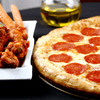 Chicken Wings 1lb & Large Pizza