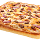 Bacon, Cheddar & Burger Pizza
