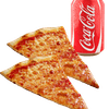 Plain Cheese Pizza Slice