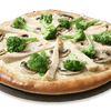 Alfredo Pizza with Grilled Chicken Breast