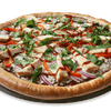 BBQ Pizza with Grilled Chicken Breast