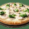 Alfredo Pizza with Jumbo Shrimp