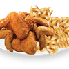 Five Chicken Wings with Fries & Coleslaw