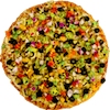 Spicy Garden Delight Pizza