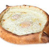 Regular Pain with Two Eggs Gandola Pizza