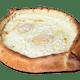 Regular Pain with Two Eggs Gandola Pizza