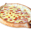 Tomato Scambled with One Egg Gandola Pizza