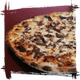 Philly Cheese Steak Pizza w/ Green Peppers Oregano