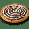 Chocolate Cactus Bread Dessert Pizza