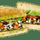 Mediterranian Veggie Sandwich