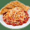 Baked Spaghetti with Tomato Vegetarian Sauce