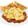 Baked Meat Ravioli with Meat Sauce