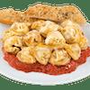 Baked Cheese Tortellini with Tomato Vegetarian Sauce
