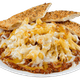 Baked Mostaccioli Tortellini with Meat Sauce