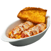Manicotti with Meat Sauce & Cheese