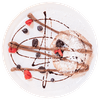Signature Nutella Calzone with Mixed Berries