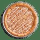 Apple Bavarian Dessert Pizza