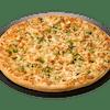 Chicken Broccoli Alfredo Pizza