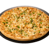 Gluten Sensitive Chicken Broccoli Alfredo Pizza