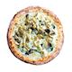 White Shroom Pizza
