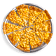 Large Mac & Cheese Pizza