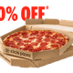 Pepperoni Deal – Buy 1 Large Size, Get One 50% OFF Special