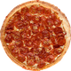 Socal Triple Pep Pizza