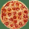 Personal Pure Pepperoni Pizza