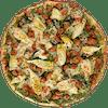 Personal Chicken Artichoke Pesto Pizza