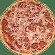 Personal Vegan Pepperoni Pizza