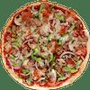 Personal Vegan Da Works Pizza