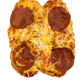 Double Pretzel Pizza - Pepperoni