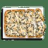 Spinach Alfredo Flatbread