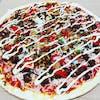 Peri Peri Jackfruit Pizza