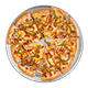 Zesty Veggie Pizza with Ranch Sauce