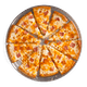 Zesty Ham & Cheddar Pizza with Ranch Sauce