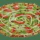 Round BLT Pizza