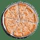 Thin Crust Alfredo Cheese Pizza
