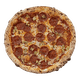 Pepperoni with Banana Peppers Thin Pizza
