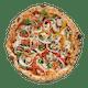 Very Veggie Thin Pizza
