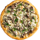 Daddy's Philly Steak Pizza